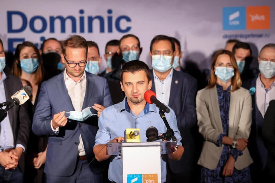 """Cristian Moș: """"La sfârșitul zilei de azi putem avea un vicepreședinte PNL și un vicepreședinte USR PLUS la CJT"""""""