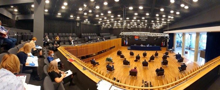 A fost amânată alegerea vicepreședinților Consiliului Județean Timiș