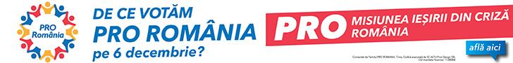 Pro Romania Banner