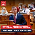 Deputatul Alfred Simonis demisionează din Parlament ca să nu primească pensie specială
