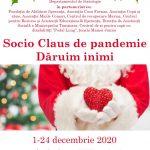"""Pandemia trimite în online evenimentul caritabil """"Socio Claus– Dăruim inimi"""". Cum poți ajuta copiii cu autism"""