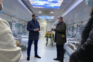 A fost operaționalizată Unitatea Mobilăde Terapie Intensivă amplasată la Spitalul Municipal