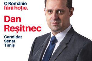 Interviu cu Dan Reșitnec, candidatul USR PLUS pentru un loc în Senatul României (P)