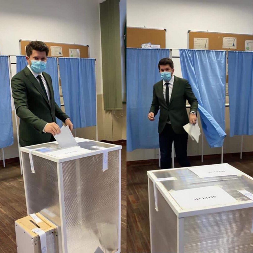 """Cosmin Cionca, de la PMP Timiș: """"Am votat! Împreună mișcăm România!"""""""