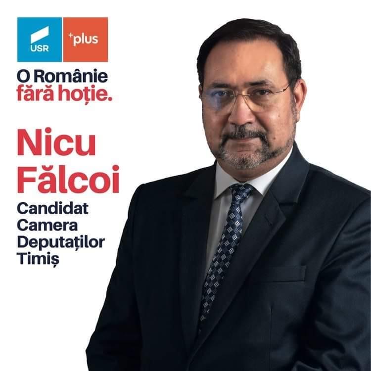 """Senatorul USR de Timiș, Nicu Fălcoi: """"Alianța USR PLUS este pregătită să își asume responsabilitatea guvernării"""" (P)"""