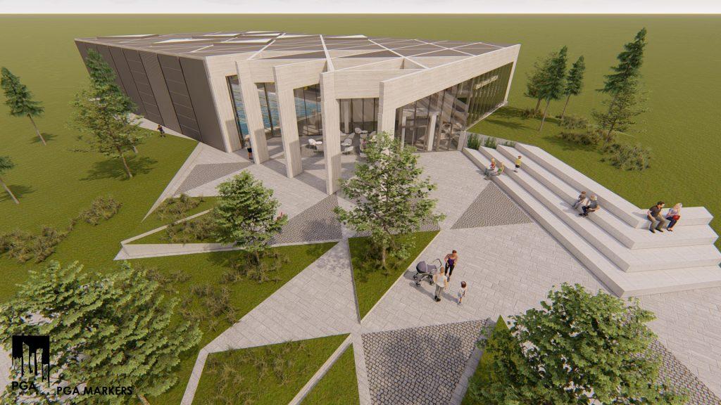 O asociere de trei firme, interesată să construiască bazinul de înot de la Jimbolia, realizat de CJT