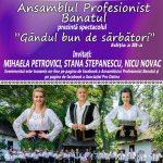 """Mihaela Petrovici, Stana Stepanescu și Nicu Novac aduc """"Gândul bun de sărbători"""" în casele bănățenilor"""