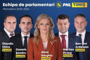 PNL Timiș va avea cei mai mulți parlamentari în mandatul 2020-2024