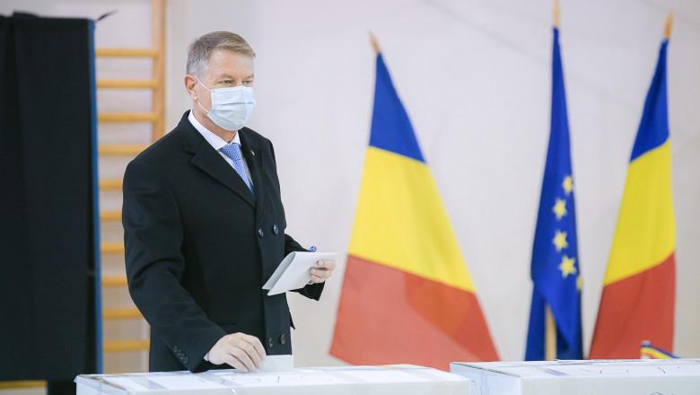 """Iohannis: """"Să alegem un Parlament care face legi bune pentru România. Fiecare vot contează"""""""