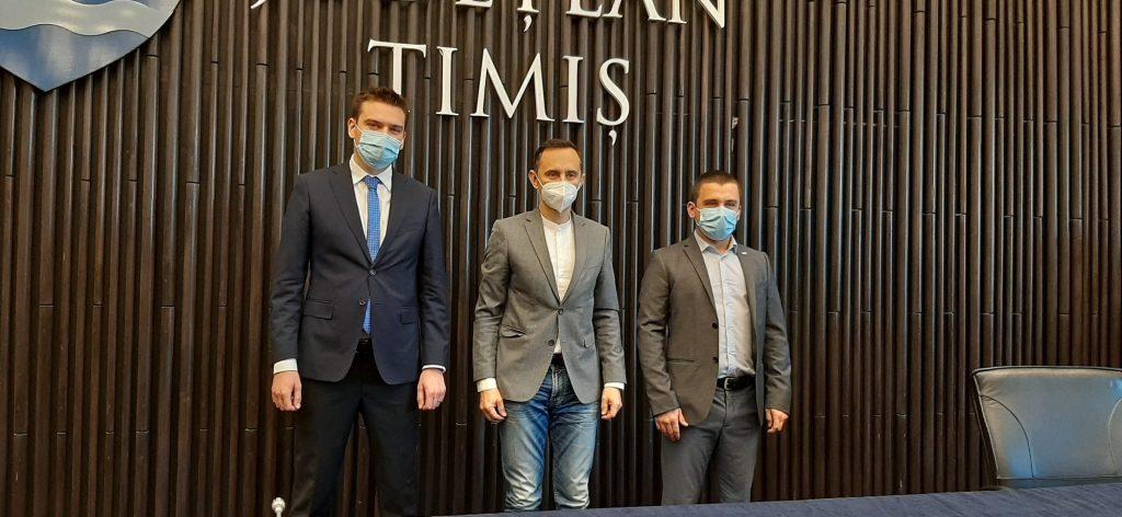 Alegerea vicepreședinților CJT, boicotată de PSD. Proteasa și Moș întregesc echipa lui Alin Nica