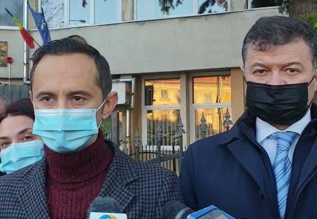 Liderul CJT, Alin Nica, a votat în Timișoara. Ce a declarat la ieșirea de la urne