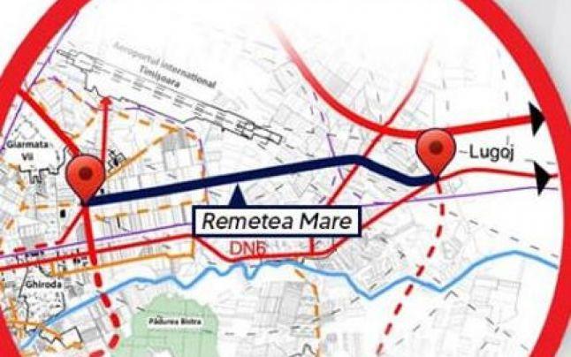 Bani în plus pentru noul drum de legătură între Aeroport și A1 realizat de CJ Timiș