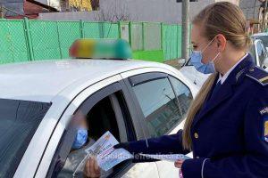 Taximetriștii, sfătuiți de polițiștii de frontieră să nu transporte persoane necunoscute în zona de frontieră