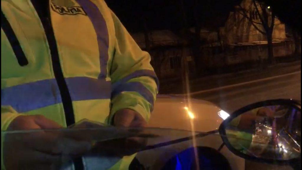 Scandal la Timișoara între un taximetrist și un polițist/VIDEO
