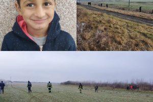 Mobilizare de forțe pentru găsirea unui băiat