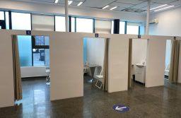 Centrul de vaccinare din incinta ISHO, pregătit pentru deschidere