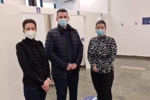 Autoritățile au verificat centrul de vaccinare de la mall. Câți timișeni s-au înscris deja pentru imunizare