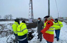Vicepreședintele Cristian Moș, în vizită pe șantierul unul drum foarte circulat, Centura Timișoara – Aeroport