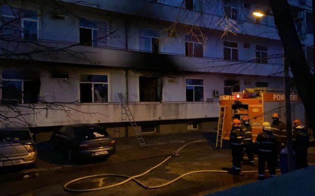 4 pacienți au murit într-un incendiu major izbucnit vineri dimineață la Institutul Matei Balș, într-un pavilion cu pacienți COVID