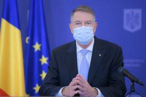 Iohannis: Revenirea la normalitate depinde de succesul campaniei de vaccinare