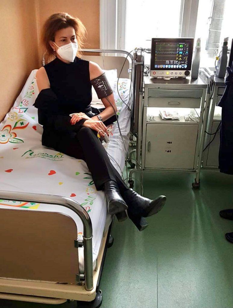 Prefectul Liliana Oneț s-a imunizat împotriva covid