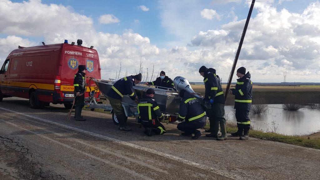 Pompierii timișeni ajută la căutarea băiatului dispărut din județul Arad