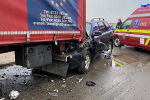 Accident rutier lângă Remetea Mare