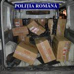 Peste 260 mii de țigarete de contrabandă depistate de polițiștii arădeni