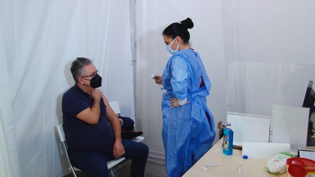 Aproximativ 1260 de vaccinuri administrate în ultimele 24 de ore, în Timiș
