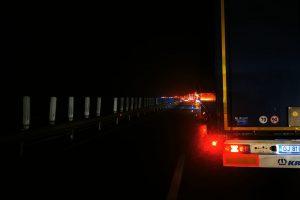Accident în lanț între două autotrenuri și 3 autoturisme, în Timiș