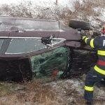 Accident la ieșire din Timișoara