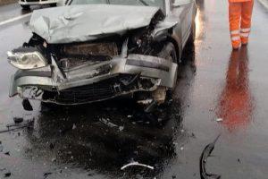 Accident în lanț pe autostrada A1