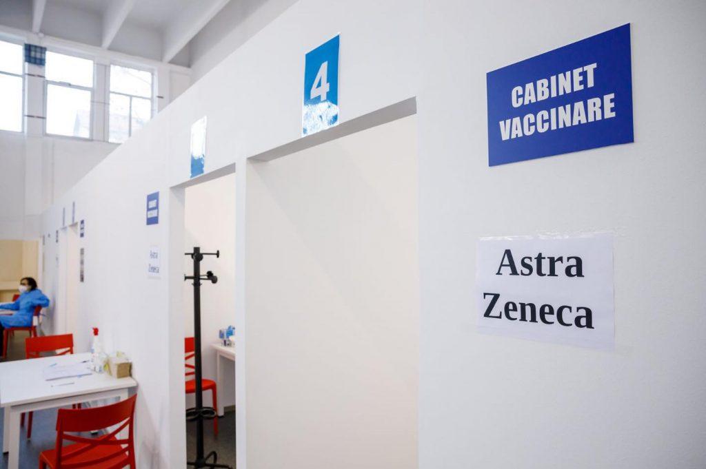 De azi, vaccinare fără programare cu ser de la AstraZeneca