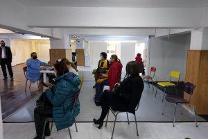 O sută de cadre didactice s-au vaccinat la centrul special de la Casa Tineretului Timișoara