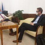 Fritz spune că a găsit sprijin la București pentru Drumul Boilor și Pasajul Solventul