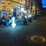 Patronii de terase și restaurante din Timișoara pot să amenajeze iglu-uri pe domeniul public