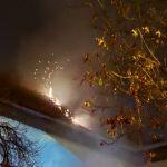Incendiu la o grădiniță din zona Prefecturii