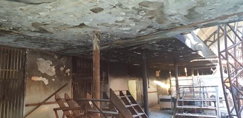 Replica Piețe S.A. în scandalul cu primarul Fritz după incendiul de la piața de flori