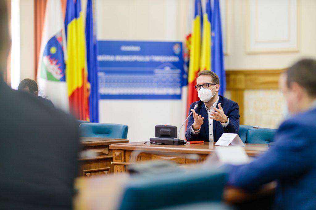 """Primarul Fritz: """"Carantinarea Timișoarei nu este o soluție fezabilă, decât dacă am carantina tot județul Timiș"""""""