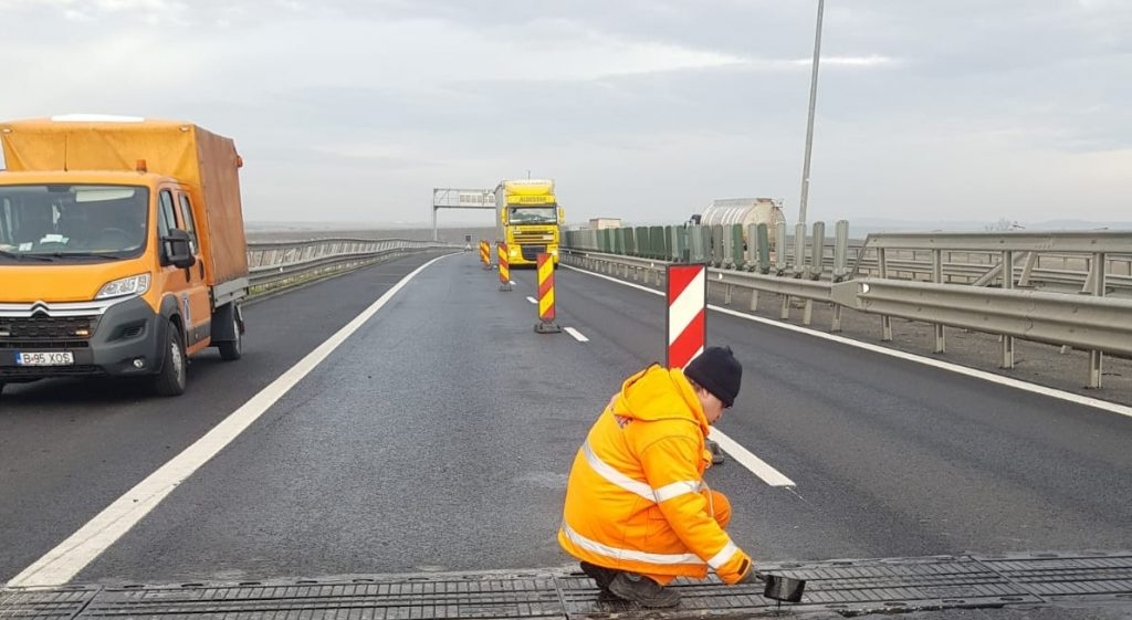 Atenție, șoferi! În ce zone se lucrează azi pe autostrada A1