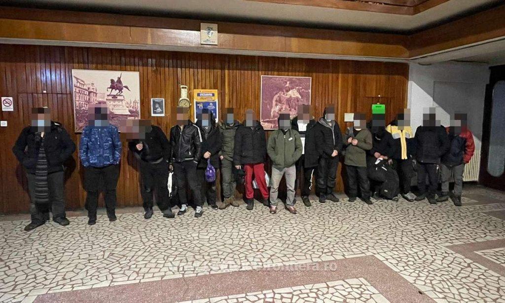 38 de cetăţeni din Afganistan şi Pakistan depistați la graniţa cu Ungaria