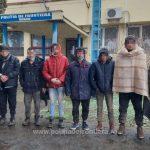 43 de cetăţeni din Afganistan, Eritreea, Turcia, Irak şi Pakistan depistați de poliţiştii de frontieră arădeni și bihoreni
