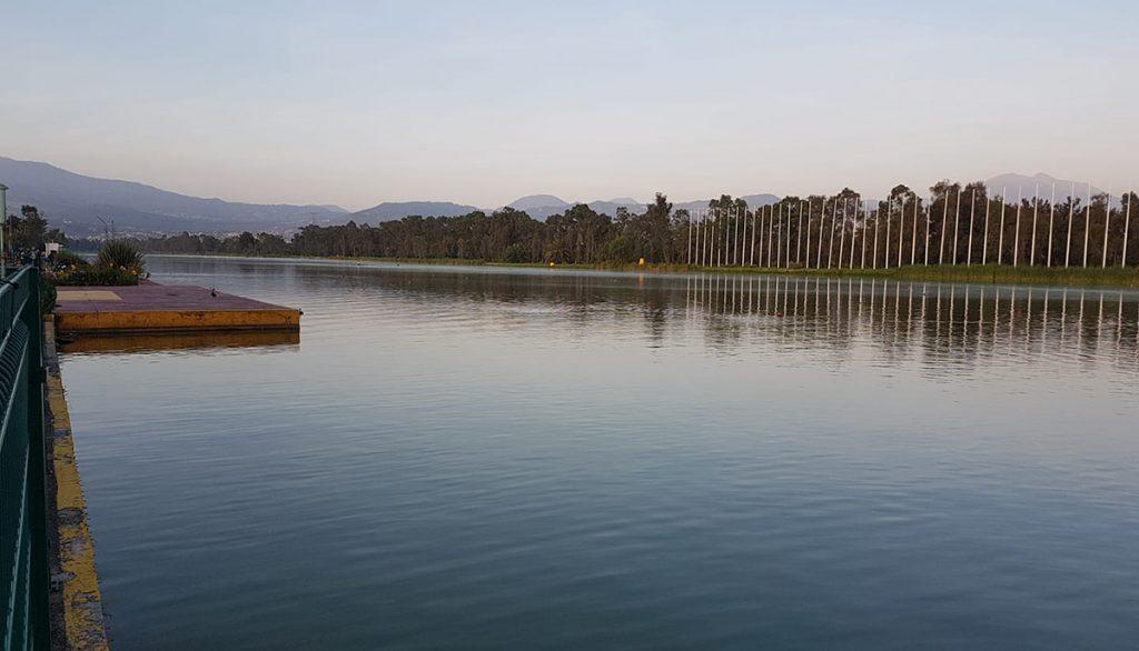 Pista de canotaj de pe lacul Surduc nu se mai realizează