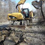 Trafic restricționat! Se lucrează pe DN 68A în zona localității Coșava