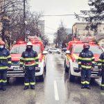 Autospeciale și echipamente noi pentru pompierii militari timișeni