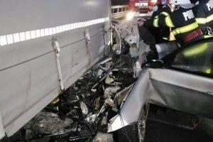 Un șofer și-a pierdut viața în urma unui accident