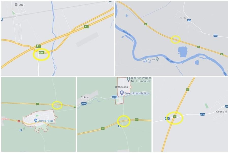 A fost semnat contractul pentru realizarea a 6 noduri rutiere pe A1 și A3, în zona de Vest