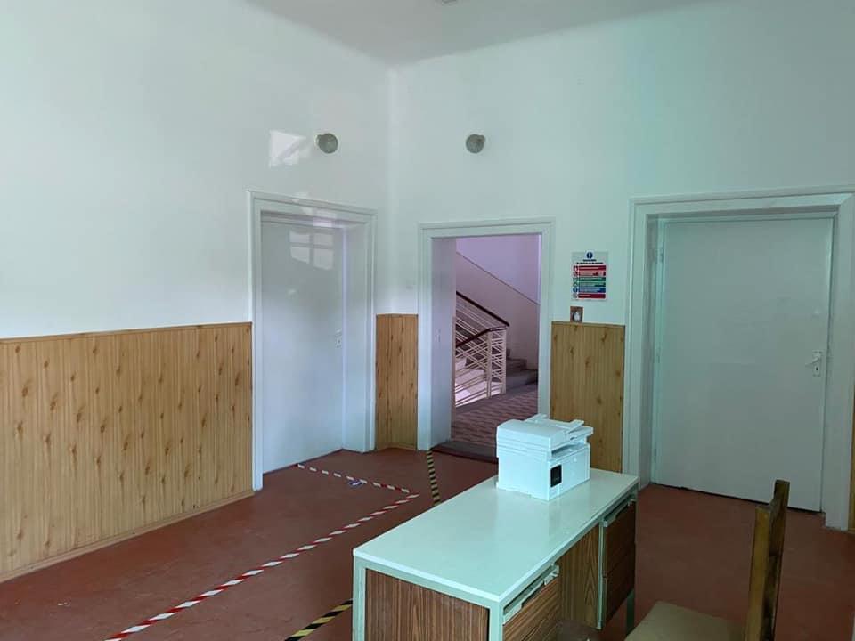Centrul de vaccinare Buziaș, pregătit pentru deschidere