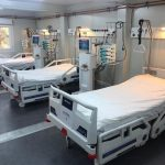 Compartimentul ATI a Spitalului Militar, suplimentat cu zece paturi