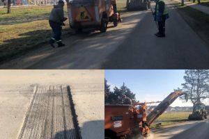 Au început lucrările de asfaltare în comuna Giroc